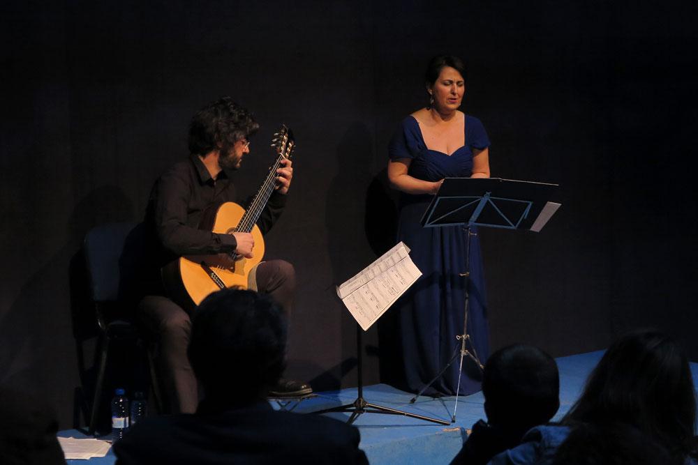 Consuelo Hueso y Sergio Santes